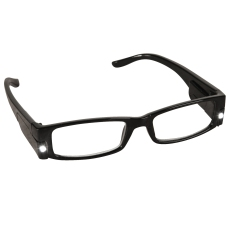LED Glasses Black
