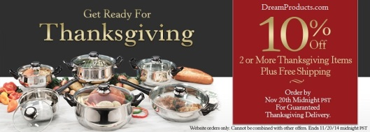 Get ready for Thanksgiving!