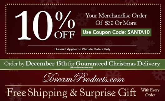 Dreamproducts.com coupon code